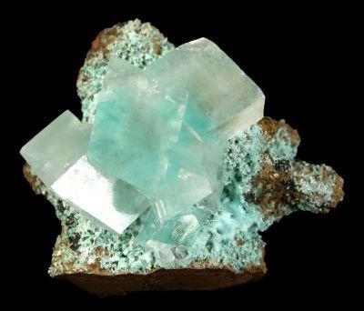 Calcite With Aurichalcite