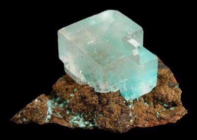 Aurichalcite in Calcite