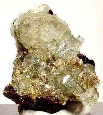Apatite, Sphalerite, Siderite