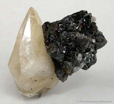 Calcite With Sphalerite