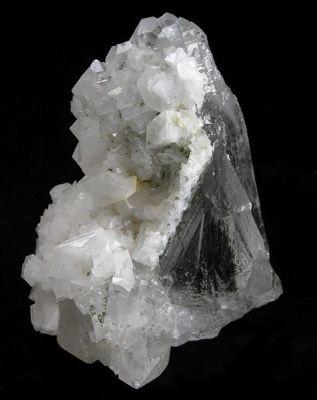 Adularia, Actinolite, Quartz