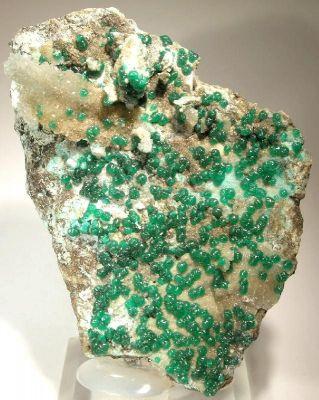 Adamite, Calcite