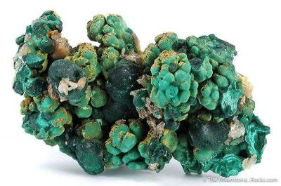 Malachite With Cerussite, Pyromorphite