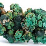 Malachite With Cerussite, Pyromorphite