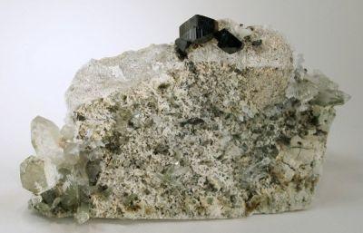 Anatase, Quartz, Brookite