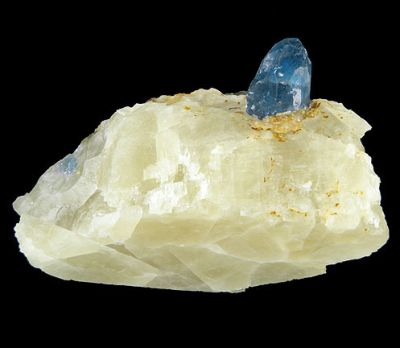 Afghanite, Calcite