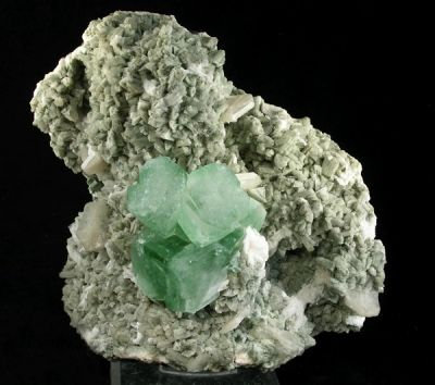 Apophyllite-(Kf), Stilbite-Ca, Heulandite-Ca