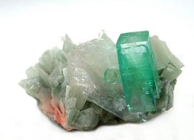 Apophyllite-(Kf), Stilbite