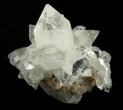 Apophyllite-(Kf), Calcite