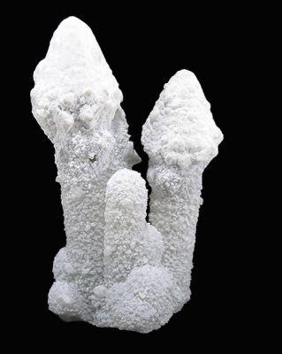 Aragonite, Quartz
