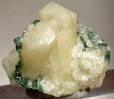 Aragonite, Aragonite (Var: Plumboan Aragonite), Malachite