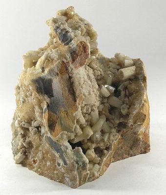 Aragonite (Var: Plumboan Aragonite)