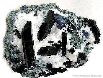 Neptunite With Benitoite