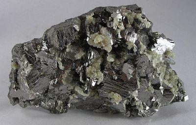 Arsenopyrite, Muscovite