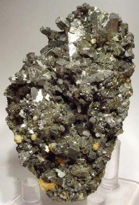 Arsenopyrite, Boulangerite, Pyrite