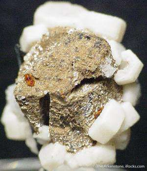 Catapleite Ps. Fluorite With Epididymite And Aegirine