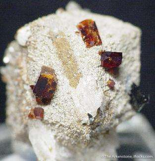 Catapleite Ps. Fluorite With Mn-Neptunite And Aegirine