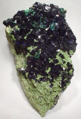 Azurite, Mottramite