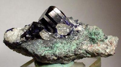 Azurite, Cerussite