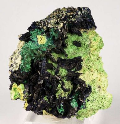 Azurite, Malachite, Bayldonite