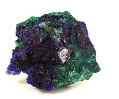 Azurite, Brochantite