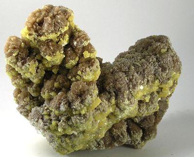 Baryte, Sulfur