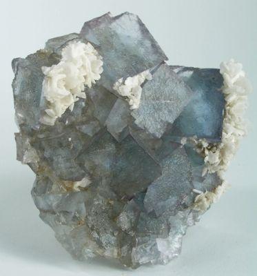 Baryte, Strontianite, Fluorite