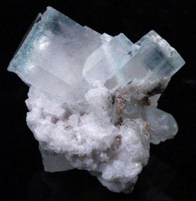 Beryl (Var: Aquamarine), Beryl (Var: Morganite)
