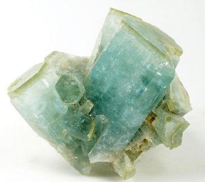 Beryl (Var: Heliodor), Beryl (Var: Aquamarine)