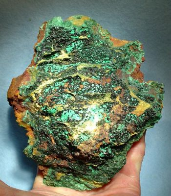 Brochantite, Malachite