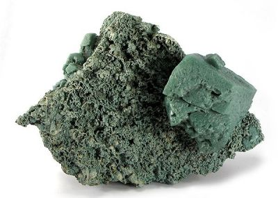 Calcite, Chlorite Group