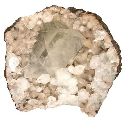 Calcite, Apophyllite, Stilbite
