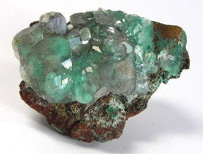 Calcite, Aurichalcite