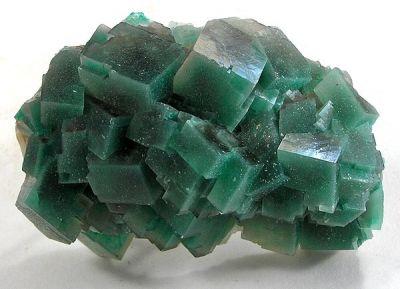 Calcite, Dioptase