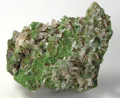 Calcite, Mottramite
