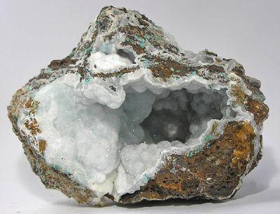Calcite, Hemimorphite