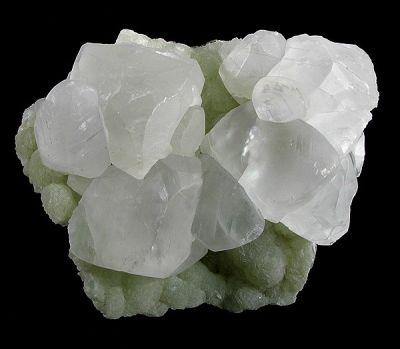 Calcite, Prehnite