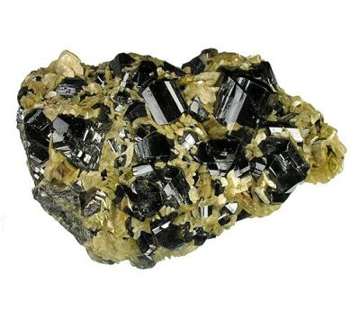 Cassiterite, Siderite