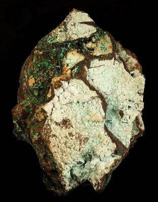 Chalcoalumite, Malachite, Azurite