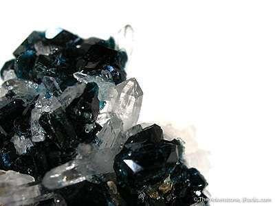 Lazulite and Quartz