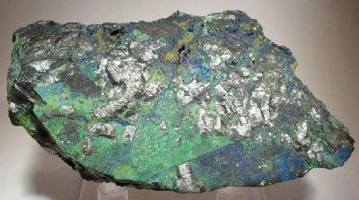 Chalcocite, Malachite, Azurite