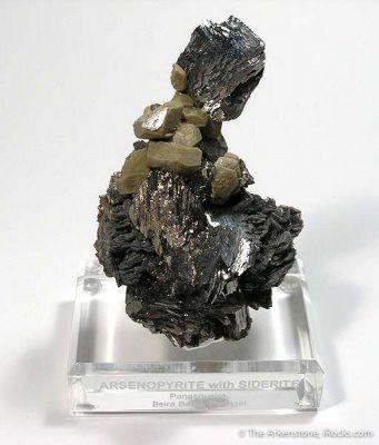 Arsenopyrite With Siderite