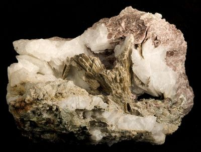 Clinozoisite, Quartz, Axinite-(Fe)