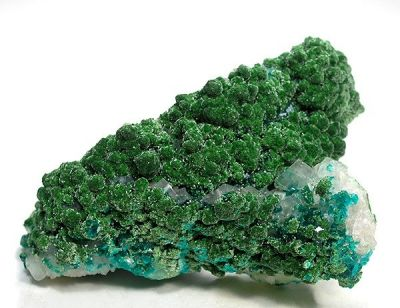 Conichalcite, Dioptase, Calcite