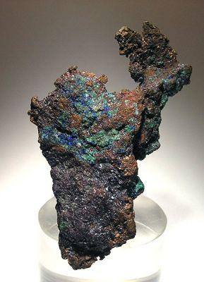 Copper, Azurite, Malachite