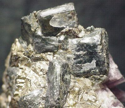 Cordierite, Anhydrite, Chalcopyrite