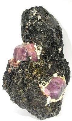 Corundum (Var: Sapphire), Corundum (Var: Ruby)