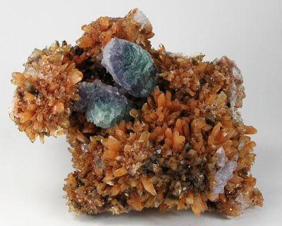 Creedite, Fluorite
