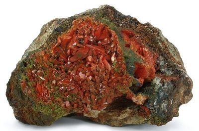Crocoite, Vauquelinite