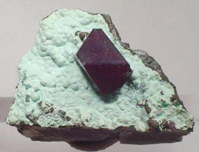 Cuprite, Plancheite